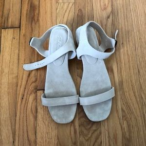 Brand new St. Agni suede sandals